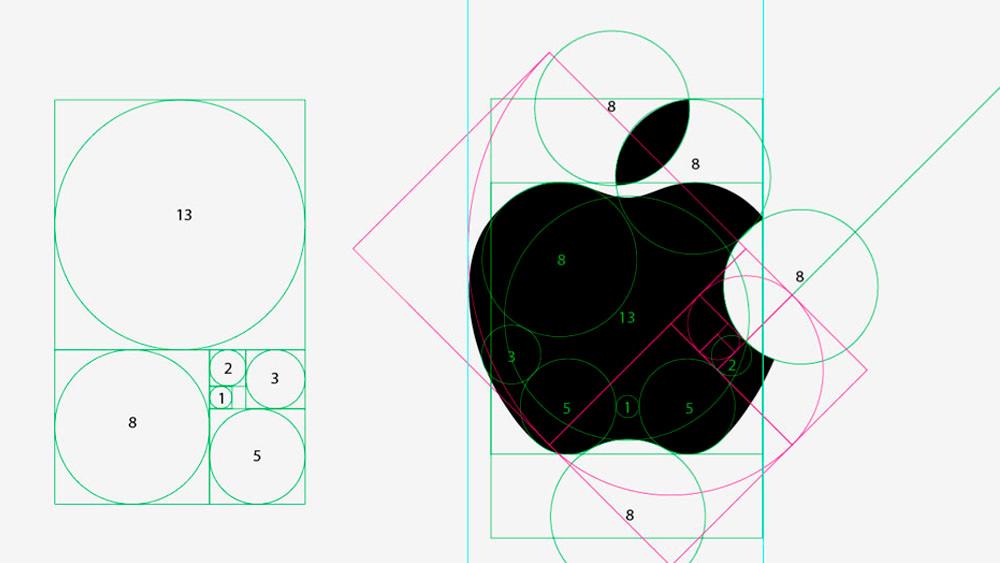 logo apple proporzioni