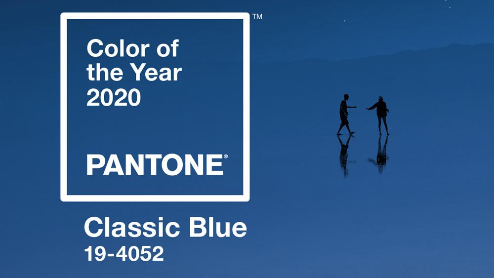 profondo blu pantone 2020